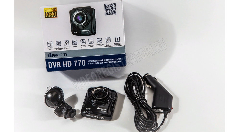 комплект ParkCity DVR HD 770